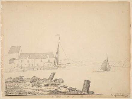 Hudson River Landing [recto]