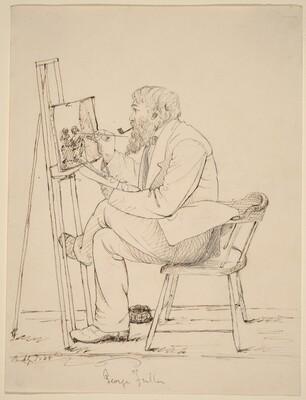 Sketching - George Fuller