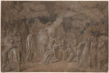 Death of Iphigenia (?)