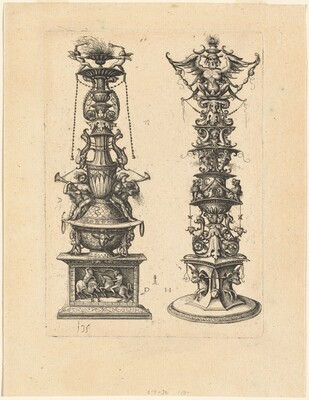 Two Candelabrum Designs