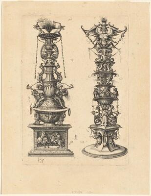 Two Candelabrum Designs