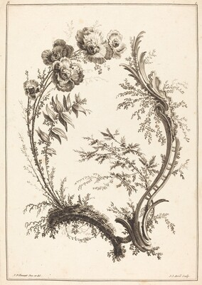 Ornament with Flowers