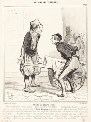 Origine des Bédoins a Paris