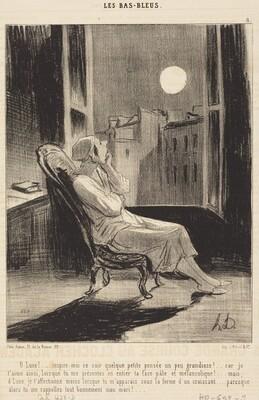 O Lune!... inspire-moi ce soir quelque petite pensée...