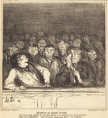 Décadence du drame en 1866