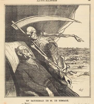 Un cauchemar de M. Bismarck