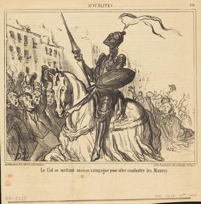 Le Cid se mettant aussi en campagne...