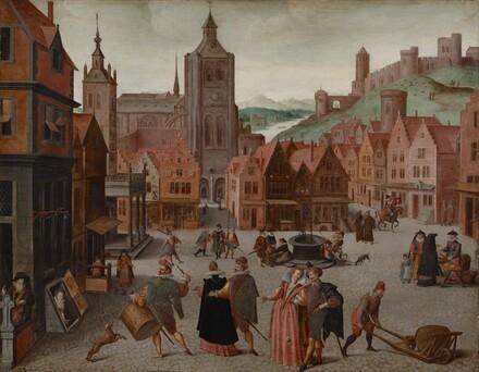 The Marketplace in Bergen op Zoom