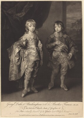 George Duke of Buckingham with his Brother Francis
