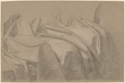 Drapery Study for Mary and Elizabeth Royall