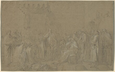 Study for The Death of the Earl of Chatham