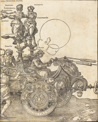 The Triumphal Chariot of Maximilian I (The Great Triumphal Car) [plate 2 of 8]