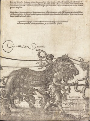 The Triumphal Chariot of Maximilian I (The Great Triumphal Car) [plate 4 of 8]