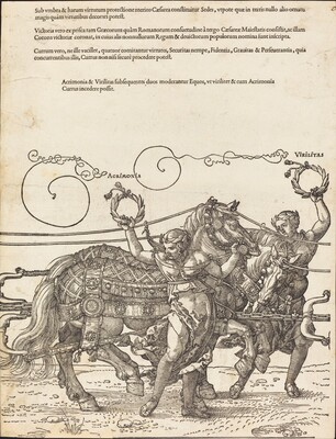The Triumphal Chariot of Maximilian I (The Great Triumphal Car) [plate 6 of 8]