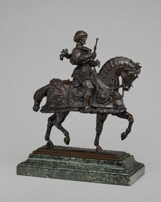 Gaston de Foix on Horseback
