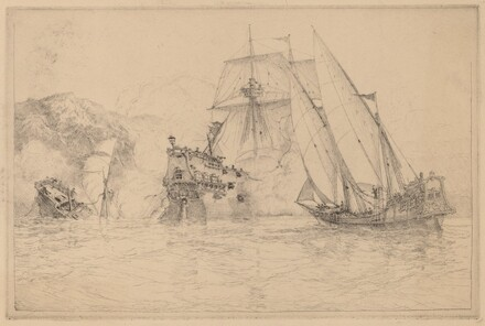 Ships Fighting