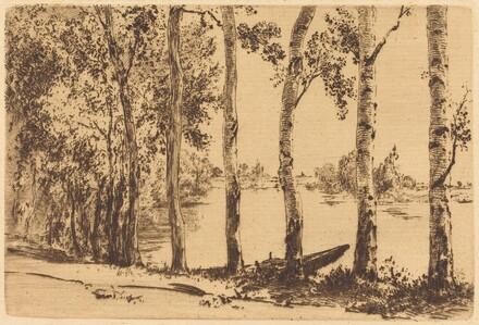 Poplars Along the Seine