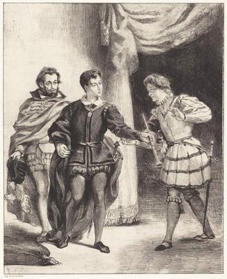 Hamlet and Guildenstern (Act III, Scene II)