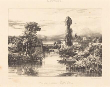 View at Alençon (Vue prise à Alençon)