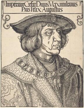 Albrecht Dürer, Emperor Maximilian I, c. 1518c. 1518