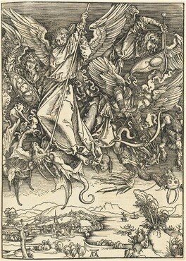 Saint Michael Fighting the Dragon