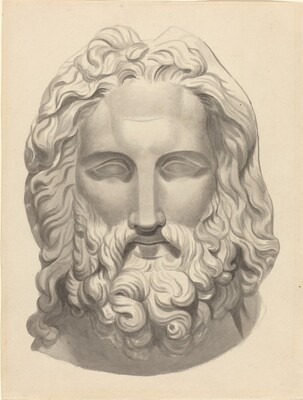 Antique Bearded Head