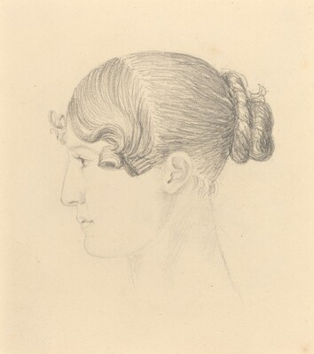 Head of a Woman (Theresa Turner?)