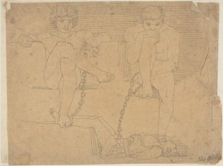 Otus and Ephialtes Holding Mars Captive