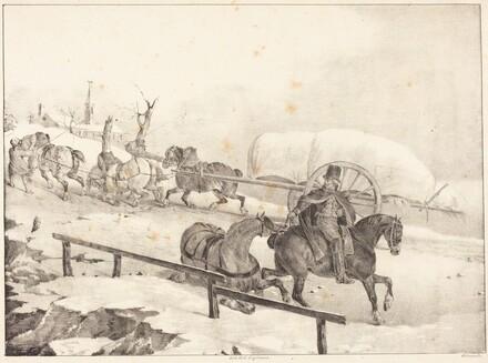 Wagoner Climbing a Hill (Roulier montant une cote)