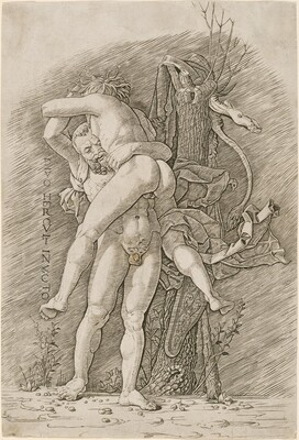 Hercules and Antaeus