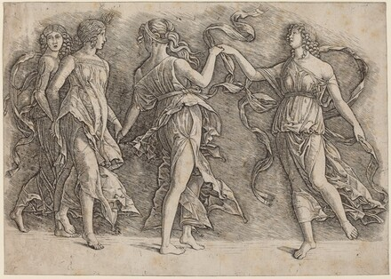 Four Dancing Muses