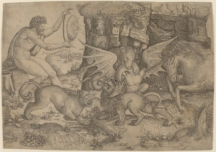 Allegorical Theme: Combat of Animals