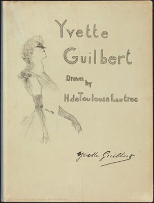 Cover, Yvette Guilbert