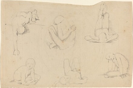 Studies of a Male Figure