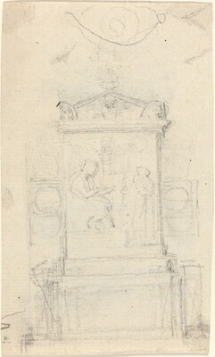 Design for the Tomb of Dr. Joseph Warton