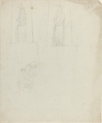 Designs for a Monument [recto and verso]