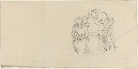Group of Figures Surrounding Seated Figure
