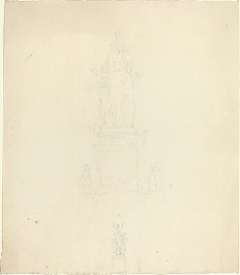 Design for Monument or Metalwork