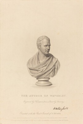 Bust of Sir Walter Scott