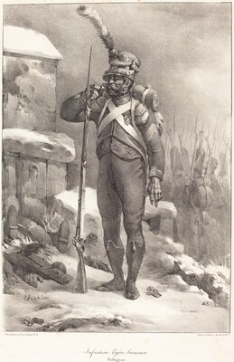 Infanterie legère française, Voltigeur