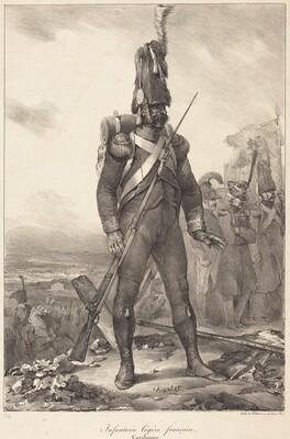 Infanterie legère française, Carabinier