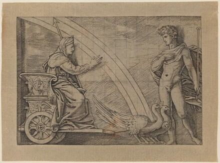 Juno in a Chariot Pulled by Peacocks