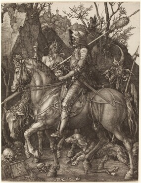 Albrecht Dürer, Knight, Death and Devil, 1513