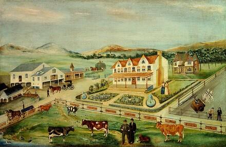 Bucks County Farm Outside Doylestown, Pennsylvania