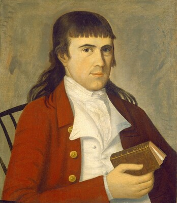 Portrait of a Man in Red