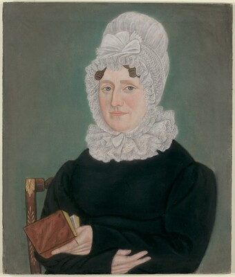 Portrait of a Woman with a Lace Cap