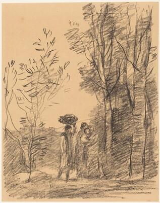 The Meeting in the Woods (La Rencontre du bosquet)