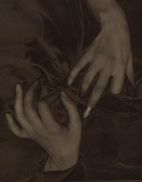 image: Georgia O'Keeffe—Hands and Thimble