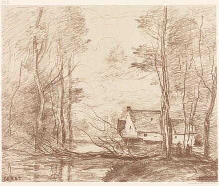 The Mill of Cuincy, near Douai (Le Moulin de Cuincy, pres Douai)
