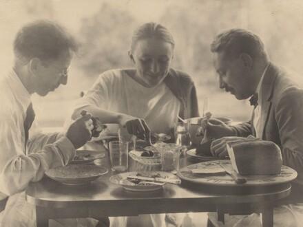 Charles Duncan, Georgia O'Keeffe, and Paul Rosenfeld